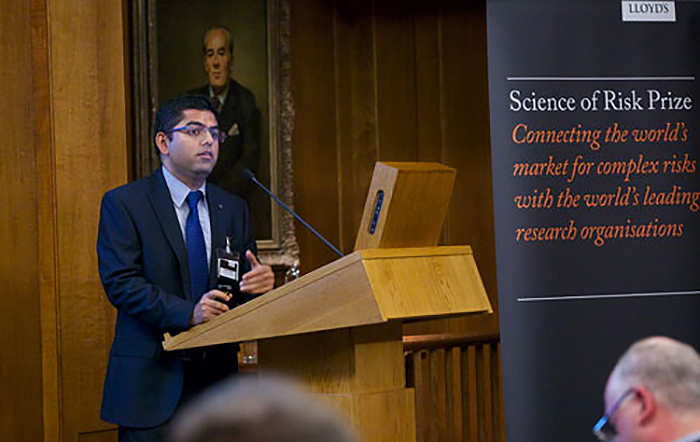 Dr Raghav Pant Highly Commended in Oxford's 2020 Vice-Chancellor Innovation Awards