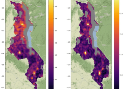 Predicting infrastructure demand using satellite imagery and machine learning